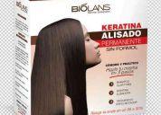 Keratina biolans alisado permanente