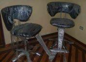 Vendo dos sillas nuevas para peluqueria