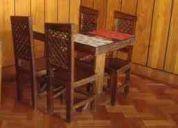 Vendo freidora, mesas y sillas de restaurant