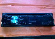 Radio pioneer deh-2250ub con puerto usb y auxiliar