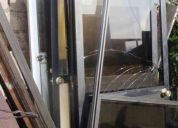 Vendo puertas de aluminio y vidrio