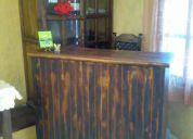Vendo  remate de muebles de restaurante bar cafeteria