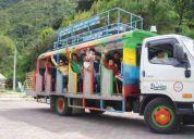 Alquiler de chivas para turismo
