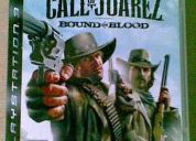 Call of juarez en español para play 3 (no acepto cambios por otros juegos) es nuevo me vin