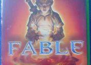 Vendo juego fable para xbox original en $30 dólares.