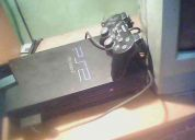 Vendo play station 2 + 1 control +20 juegos + 1 memoria card