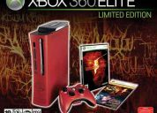 Vendo xbox 360 elite 120gb versión re5