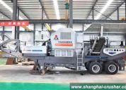 Trituradoras moviles, planta triturado movil