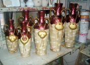adornos de cerámica.