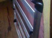 Parrilla de aluminio aerorack con soporte