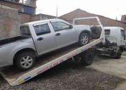 Vendo un camion grua con plataforma para veiculos livianos