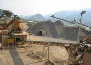 La plantas producción de arena,maquinas trituradoras