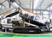 Trituracion y cribado plantas moviles,trituradoras industriales