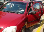 chevrolet corsa evolution hatchback 2003 color vino