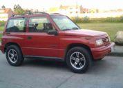 Vendo falamane vitara 3 puertas modelo 2001 color rojo