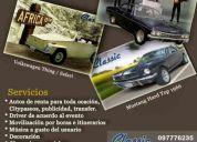 Alquiler de autos clasicos