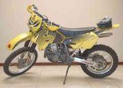 Vendo flamante moto suzuki drz-400, doble proposito moelo 2001