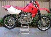 Compro moto honda xr 650 r. 2002. full enduro.