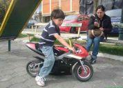 regalo lindisima moto para junior traida desde canada