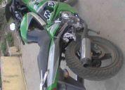 Vendo moto tipo ninja 2009 flamante 350km recorrido