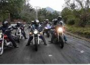 Forma parte de un club de motos