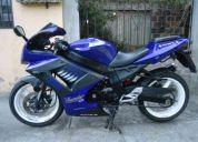 Vendo flamante moto tipo ninja 250 aÑo 2010