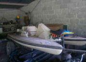Vendo bote con motor fuera de borda