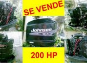 Vendo motor fuera de borda johnson 200hp