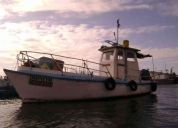 Venta de bote pesquero artesanal
