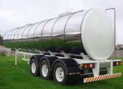 Tanquero autoportante de acero inoxidable  10.000 galones
