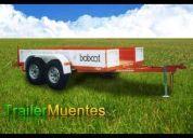 Trailer muentes - trailers, carretones, remolques, semiremolque, acoplados