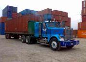 trailer freightliner reparado buen estado