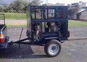 Remolque para transportar 10 perros 1200 negociable