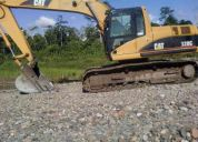 Vendo excavadora cat 320 cl