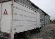 Vendo camion hino fc 2007, con furgon alargado