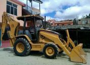 Vendo retroexcavadora caterpillar 420d