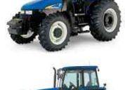 Vendo tractores y cosechadoras ford new holland