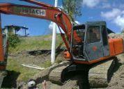 excavadora hitachi ex 100