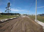 Se vende lote de terreno de 1000 m2 en el parque industrial turubamba quito