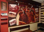 Cafeteria  de lujo en venta