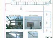 Venta de terreno con cerramiento y techo metalico