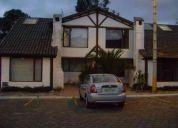 Vendo hermosa casa estilo campestre en conjunto privado via calderon negociable!!