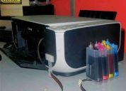 Sistemas de tinta continuos a $. 65 ya instalados y a domicilio