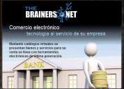 Página web de comercio electrónico y tiendas virtuales