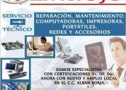 Mantenimiento y reparacion de computadoras. entersys guayaquil