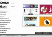 Sitios web desde $ 70