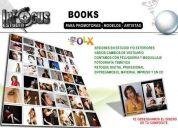 Books y portafolios para modelos