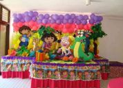 AnimaciÓn de fiestas infantiles a domicilio fiesta temÁtica todos los personajes