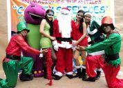 Animaciones infantiles y agasajos navideÑos en caritas felices 088614118