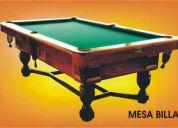 Venta de mesas de billar